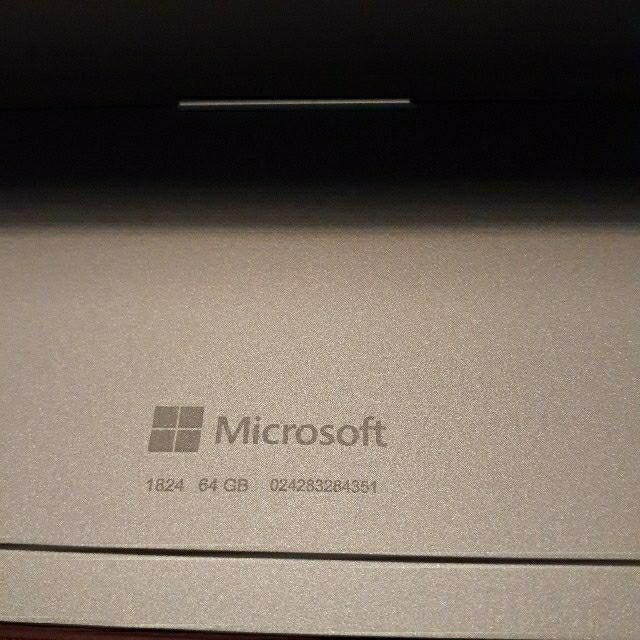 Microsoft(マイクロソフト)のSurface Go キーボード付き スマホ/家電/カメラのPC/タブレット(ノートPC)の商品写真