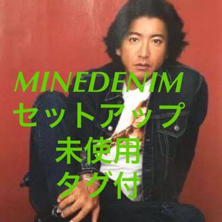 テンダーロイン(TENDERLOIN)のキムタク マインデニム セットアップ 3rd Gジャン テンダーロイン レイバン(Gジャン/デニムジャケット)