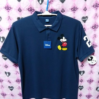 ディズニー(Disney)の最新ミッキーBIGポロシャツ4Lサイズ(ポロシャツ)