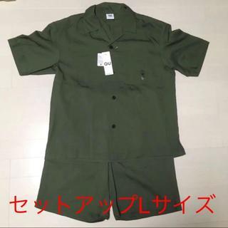 GU SOPH. オープンカラーシャツ+パンツ セットアップ(その他)