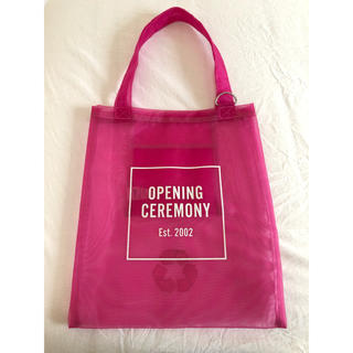 OPENING CEREMONY - OPENING CEREMONY シースルートートバッグ
