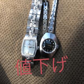 ラドー(RADO)の手巻時計RADOヴィンテージ一点物 2個 美品(腕時計)