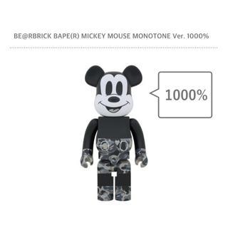 メディコムトイ(MEDICOM TOY)の《新品》BE@RBRICK BAPE MICKEY MOUSE 1000%(その他)