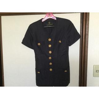 クレイサス  ネイビー スーツ サイズ38
