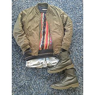 パナマボーイ(PANAMA BOY)の古着 USED 個性的 ニット(ニット/セーター)