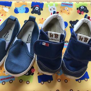 ホットビスケッツ(HOT BISCUITS)の15.0センチ 靴 2足セット(スニーカー)