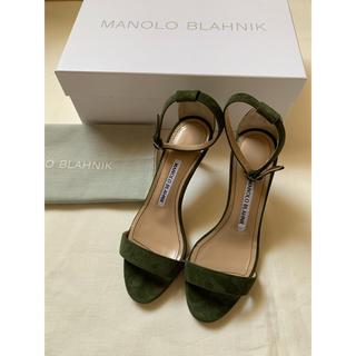 マノロブラニク(MANOLO BLAHNIK)のMANOLO BLAHNIK CHAOS SANDAL(サンダル)