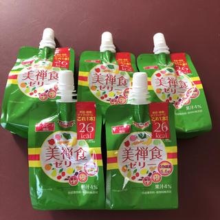 ドクターシーラボ(Dr.Ci Labo)のドクターシーラボ 美禅食ゼリー ローズピーチ風味 200g(5個)(ダイエット食品)