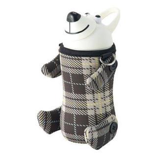 サーモマグ(thermo mug)の新品!限定モデルAnimal Bottle Check Beige(水筒)
