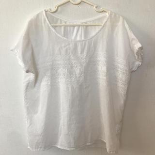 ピンクアドべ(PINK ADOBE)の刺繍入りブラウス(シャツ/ブラウス(半袖/袖なし))