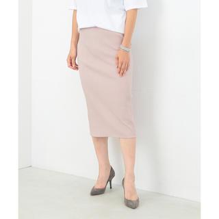 デミルクスビームス(Demi-Luxe BEAMS)のデミルクスビームス リブニット タイトスカート(ひざ丈スカート)