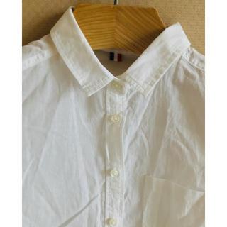 ジーユー(GU)のyu_ru様専用☆ジーユー☆半袖ホワイトシャツ(シャツ/ブラウス(半袖/袖なし))