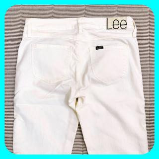 リー(Lee)のLeeリー ♥︎ スキニーパンツ ホワイト シンプル(スキニーパンツ)