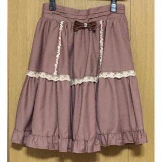 アマベル(Amavel)の【美品】Amavel(アマベル)★スカート(ひざ丈スカート)