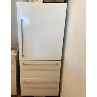 ムジルシリョウヒン(MUJI (無印良品))の送料込 無印冷蔵庫 3ドア(冷蔵庫)
