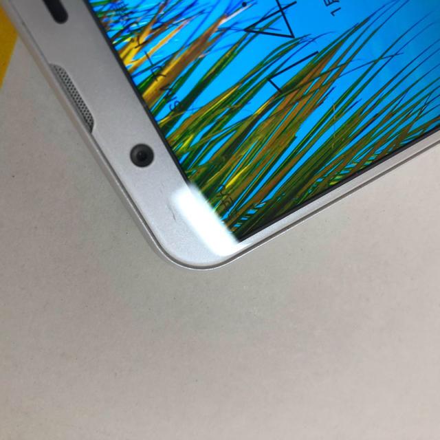 AQUOS(アクオス)の2-5216 AQUOS sense2 SH-01L ジャンク スマホ/家電/カメラのスマートフォン/携帯電話(スマートフォン本体)の商品写真