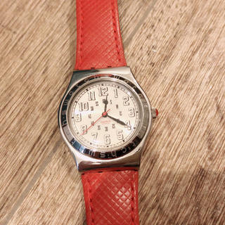 スウォッチ(swatch)のswatch 腕時計 赤 スウォッチ(腕時計)