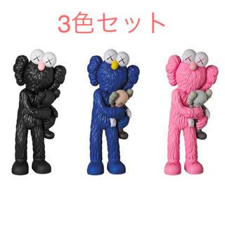 メディコムトイ(MEDICOM TOY)の【未開封新品】KAWS TAKE 3色セット PINK BLACK BLUE(その他)
