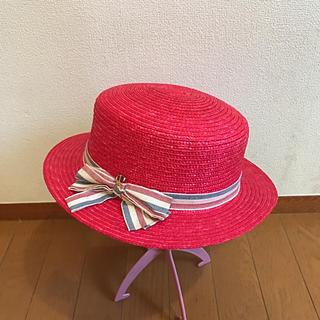 リズリサ(LIZ LISA)のLIZ LISA麦わら帽子(麦わら帽子/ストローハット)