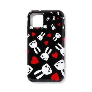 キューン(CUNE)の新品 キューン iPhone ケース 11  瞳を閉じたウサギ CUNE(iPhoneケース)