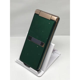 アクオス(AQUOS)の148 au SHARP AQUOS K SHF34 ロイヤルグリーン(携帯電話本体)