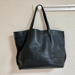 ユナイテッドアローズ(UNITED ARROWS)のREN TOKYO レザートートバッグ 黒(トートバッグ)