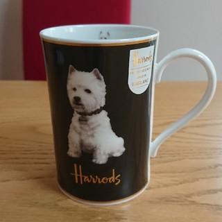 ハロッズ(Harrods)のHarrods ハロッズ マグカップ 犬(グラス/カップ)