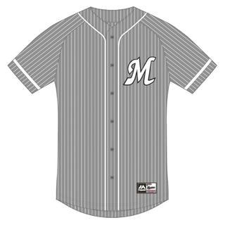 Majestic - 【新品】千葉ロッテマリーンズ ベースボールシャツ
