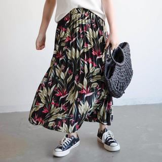 ホリデイ(holiday)の【Holiday】ボタニカルスカート◆WEB限定◆(ロングスカート)