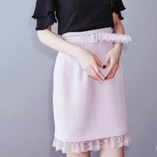 イートミー(EATME)のEATME フリルベルトタイトスカート(ひざ丈スカート)