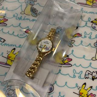 イッツデモ(ITS'DEMO)の新品 イッツデモ ポケモン コラボ ゴールド リストウォッチ♡(腕時計)