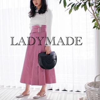 レディメイド(LADY MADE)のLADYMADE フロントジップロングスカート(ロングスカート)