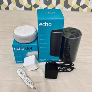 エコー(ECHO)のAmazon echo 2台 アマゾンエコー(スピーカー)