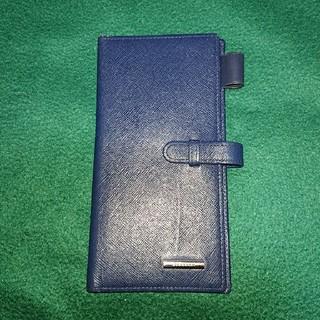 バーバリー(BURBERRY)のBURBERRY バーバリーの手帳カバー ネイビー色 ‼️(手帳)