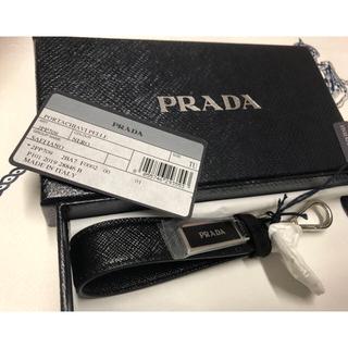 プラダ(PRADA)の 「PRADA★2PP709☆キーリング:ブラック・黒 (キーホルダー)