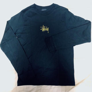 ステューシー(STUSSY)のstussy 長袖 黒T(Tシャツ(長袖/七分))