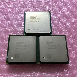 インテルCPU 3個セット Pentium 4 Celeron 1.70GHz(PCパーツ)