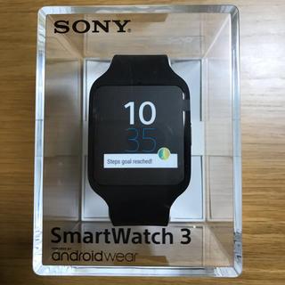 ソニー(SONY)のSONY SMARTWATCH 3 SWR50/B(腕時計(デジタル))