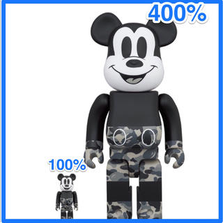 アベイシングエイプ(A BATHING APE)のBE@RBRICK BAPE®MICKEY MOUSE 100% & 400%(その他)