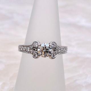 カルティエ(Cartier)の★Cartier★バレリーナダイヤリング 婚約指輪 D0.54ct(リング(指輪))