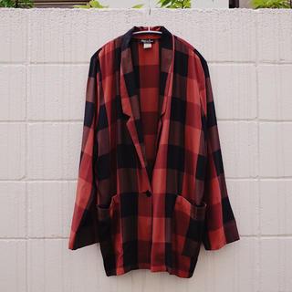 アメリヴィンテージ(Ameri VINTAGE)のVintage Plaid tailored jacket(テーラードジャケット)