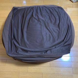 ムジルシリョウヒン(MUJI (無印良品))の無印良品 体にフィットするソファー ブラウン(ビーズソファ/クッションソファ)