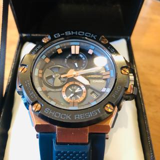 ジーショック(G-SHOCK)のビジネスにもオススメ!GST-B100G-2AJF G-STEEL ソーラー(腕時計(デジタル))