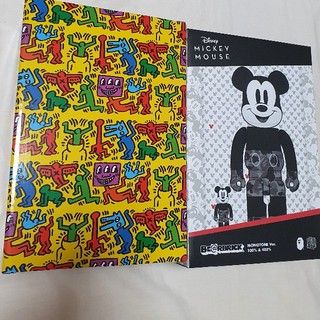 メディコムトイ(MEDICOM TOY)のbe@rbrick bape mickey 400 Keith haring(その他)