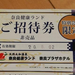 奈良健康ランド 入浴チケット2枚(その他)