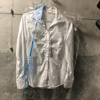 スーツカンパニー(THE SUIT COMPANY)のスーツカンパニー フリルブラウス THE SUIT COMPANY スーツ (シャツ/ブラウス(長袖/七分))