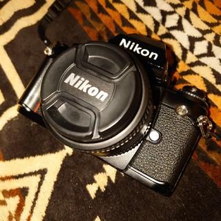 ニコン(Nikon)のNikon F3レンズ・ネックストラップ・フィルムおまけ(フィルムカメラ)