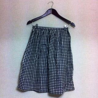 ドゥファミリー(DO!FAMILY)のギンガムチェックスカート(ひざ丈スカート)