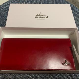 ヴィヴィアンウエストウッド(Vivienne Westwood)のVivienne Westwood 長財布 コードバン 赤 レディース(財布)