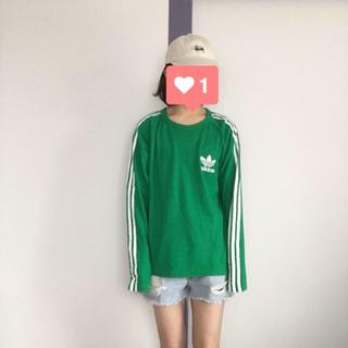 アディダス(adidas)のadidas L/S TEE(Tシャツ/カットソー(七分/長袖))